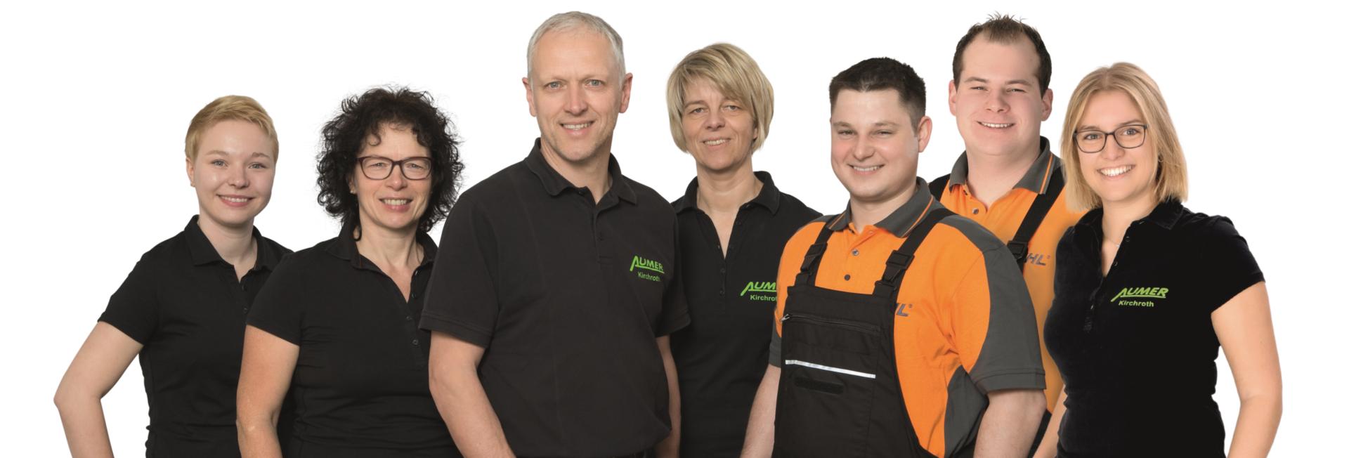 Team von Aumer Land- und Gartentechnik