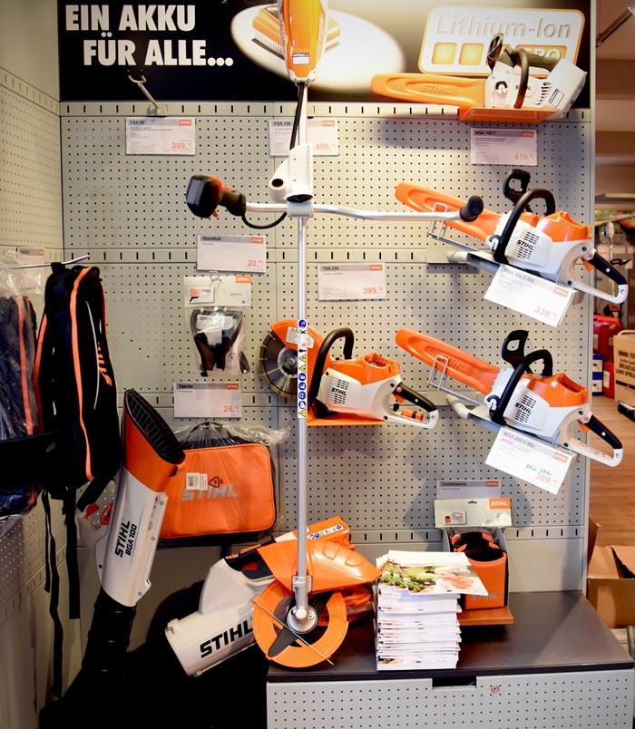 Stihl Geräte für den Garten und Wald