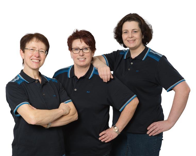 Frauen-Team von Aumer