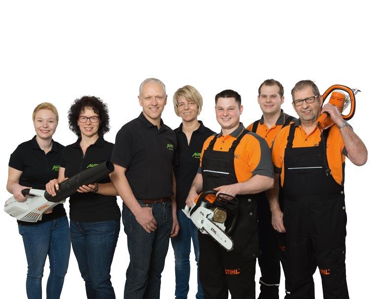 Team von Aumer in Kirchroth